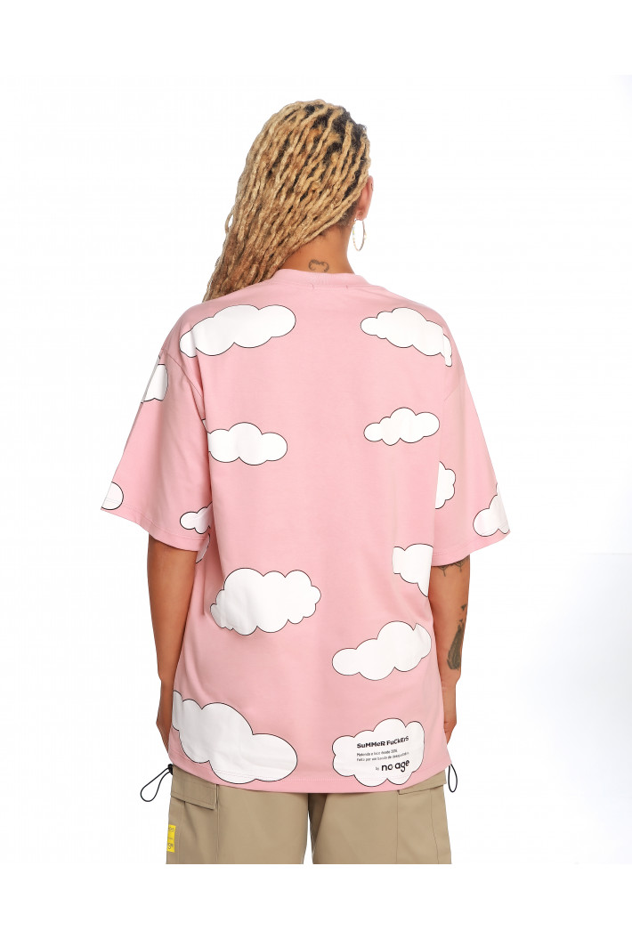T-Shirt Oversized Clouds